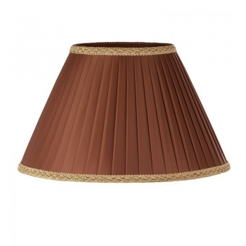 Абажур 160х340хН200 для настольной лампы из шелка/натуральной лозы, цвет на выбор