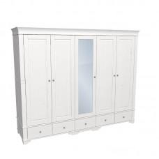 Шкаф 5-и дверный Бейли с зеркалом