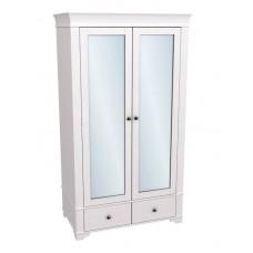 Шкаф 2-х дверный Бейли с зеркалом