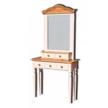 Стол туалетный Консолеа с зеркалом