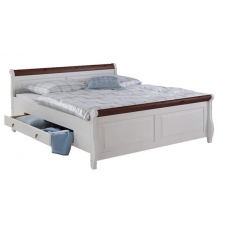 Кровать 2-х спальная Мальта 180 c ящиками
