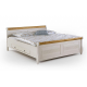 Кровать полуторная Мальта 140 с ящиками
