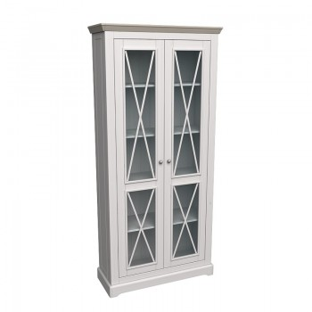 Витрина Форест с 2 стеклянными дверями