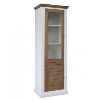Шкаф с витриной Мейсон 2685-01БМ860