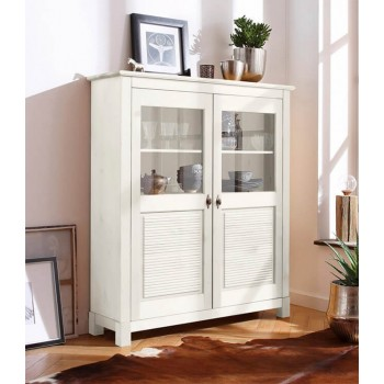 Шкаф для посуды Рауна 20 белый воск