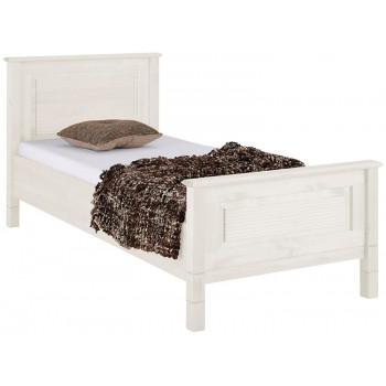 Кровать односпальная Рауна белая