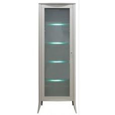 Шкаф с витриной Тиффани БМ-2425 цвет олива
