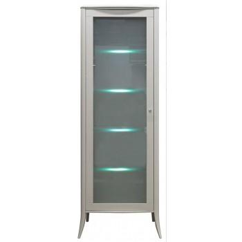 Шкаф - витринаТиффани БМ-2425 цвет олива