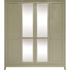 Шкаф 4-х дверный Тиффани БМ 2554-01цвет олива