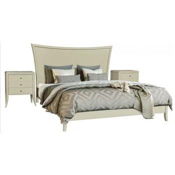 Двухспальная кровать Тиффани БМ 2556 цвет олива