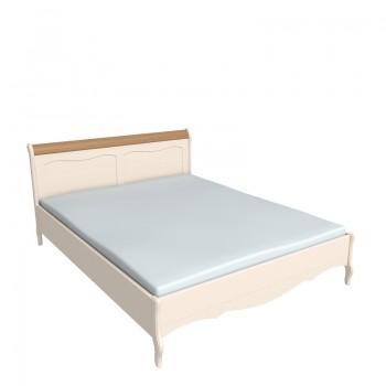 Кровать ЛеБо 160х200 бежевый воск/антик