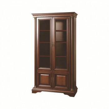 Шкаф для книг Омега 2 (Темный орех)