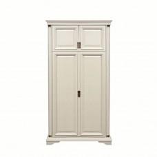 Шкаф двухстворчатый Омега 33 (Слоновая кость)