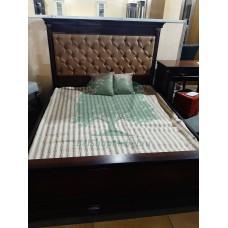 Кровать Омега 29-1 (Темный орех)