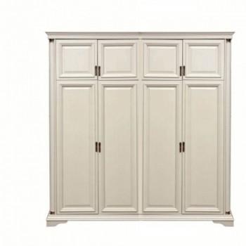 Шкаф 4-створчатый Омега 35 (Слоновая кость)