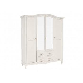 Шкаф четырехдверный с зеркалом Авиньон