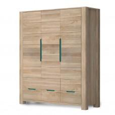"""Шкаф """"Riva"""" 3-х дверный цвет бланш"""