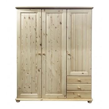 Шкаф 3-х дверный София 6102 лак