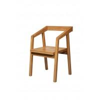 Кресло рабочее Доната 10 из массива дуба