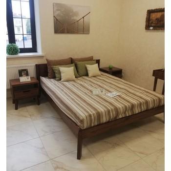 Кровать двуспальная Доната 2 массив сосны