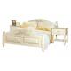 """Кровать 2-х спальная """"Фиерта 4 - 02.1М"""" с высокой ножной спинкой"""