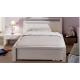 Кровать полуторная Фьорд 140 белая