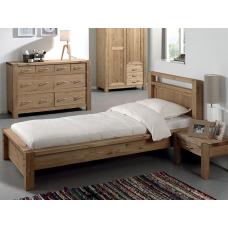 Кровать односпальная Фьорд 90 бейц