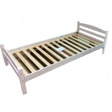 Кровать односпальная Гольф 90 белая