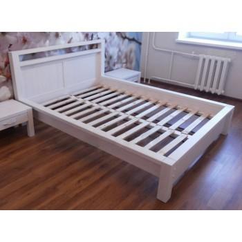 Кровать двуспальная Фьорд 180 белая