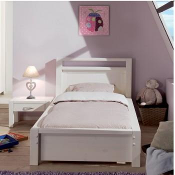 Кровать односпальная Фьорд 90 белая