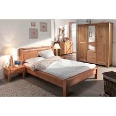 Кровать двуспальная Фьорд 160 бейц