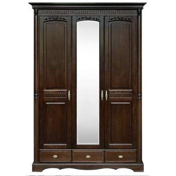 Шкаф 3-х дверный Паола БМ-2165-01