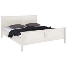 Кровать двуспальная Рауна 160 белый воск