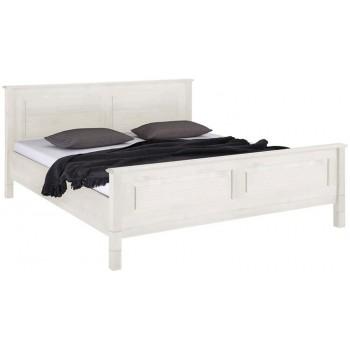 Кровать двуспальная Рауна 160 белая