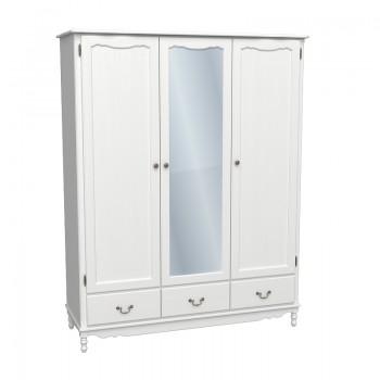 Шкаф  Верден 3-х дверный с зеркалом
