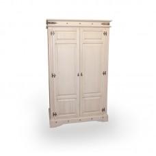Шкаф 2-х дверный Викинг 02 браш