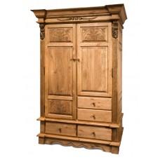 Шкаф 2-х дверный Викинг GL