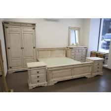 Спальня Викинг белая брашированная