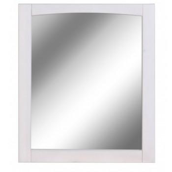 Зеркало в ванную Паула Д1145 в раме белого цвета в продаже в интернет магазине